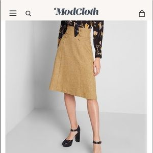 Timeless Elements High-Waisted Skirt By ModCloth